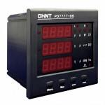 Многофункциональный измерительный прибор  PD7777-3H 380V 5A 3ф 96x96 LCD дисплей RS485 (CHINT), арт.105509