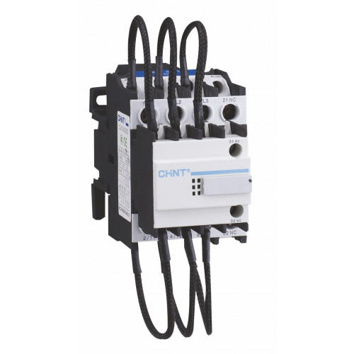 Контактор для компенсации реактивной мощности CJ19-6312, 30кВАр, 1НО+2НЗ, 230В (CHINT), арт.243358