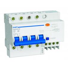 Диф. автомат NXBLE-63 4P D25 100mA тип AC  6kA (CHINT), арт.982744