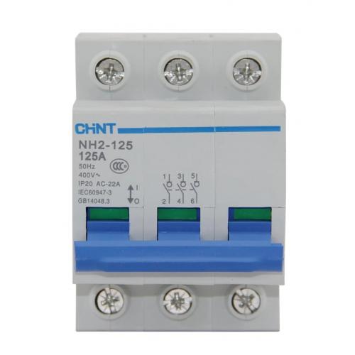 Выключатель нагрузки NH2-125 3P 63A (CHINT), арт.401058