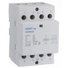 Контактор модульный NCH8-63/11 63A 1НЗ+1НО AC220/230В 50Гц (R) (CHINT), арт.256095