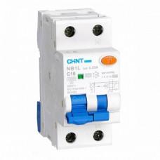 Диф. автомат NB1L 1P+N C20 30mA тип AC 10kA (36mm) (R) (CHINT), арт.203108