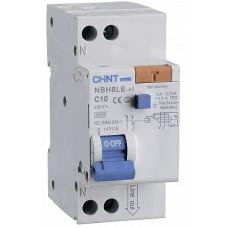 Диф. автомат NBH8LE-40 1P+N 6A 30mA х-ка С 4.5kA (R) (CHINT), арт.206060