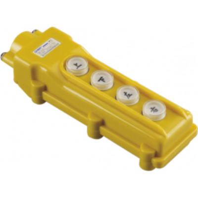 Пульт кнопочный NP3-2 на 4 кнопки IP65 (CHINT), арт.586018