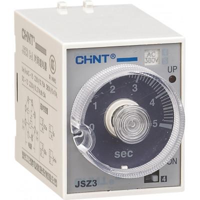 Реле времени JSZ3F задержка выключения 60s AC220V (CHINT), арт.294400