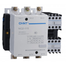 Контактор NC2-185 185A 400В/АС3 50Гц (CHINT), арт.235230
