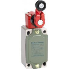 Выключатель путевой YBLX-P1/120/1G с одинарным роликом, регулируемый угол поворота (CHINT), арт.437069