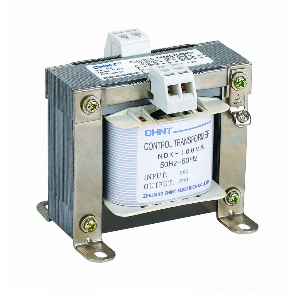Однофазный трансформатор NDK-100VA 400 230/230 110 IEC (CHINT), арт.327071