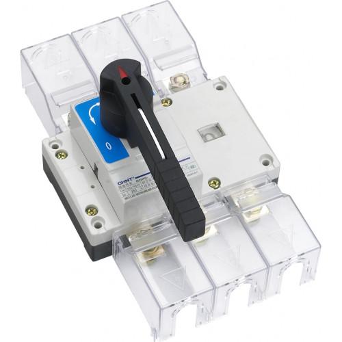 Перекидной рубильник NH40-100/3CS ,3P ,100А, 3 положения I-0-II , стандартная рукоятка управления (CHINT), арт.393545