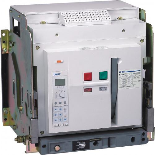 Воздушный авт. выкл. NA8G-2500-2000М/3P выдвиж., 2000A, 80kA, тип М ,AC220В (CHINT), арт.111626