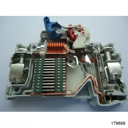 Автоматический выключатель NB1-63 2P 63A 6кА х-ка C (CHINT), арт.179668