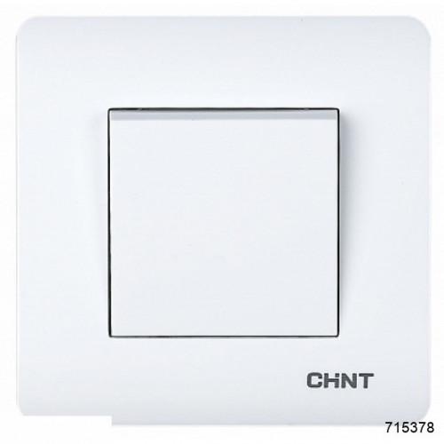 1-клавишный проходной выключатель 10А 250В (CHINT), арт.715378