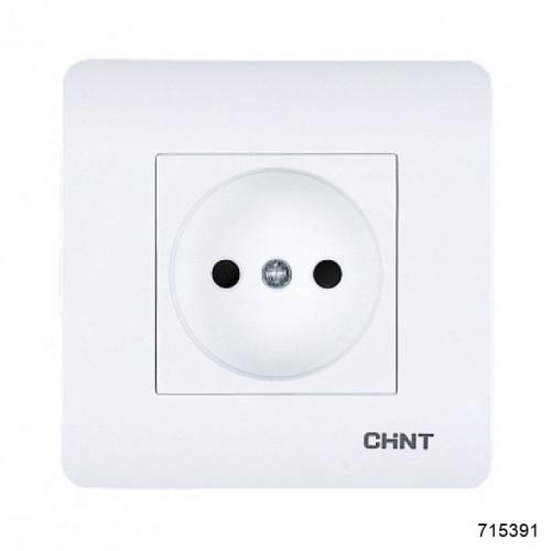 Розетка без заземляющего контакта 16А 250В (CHINT), арт.715391