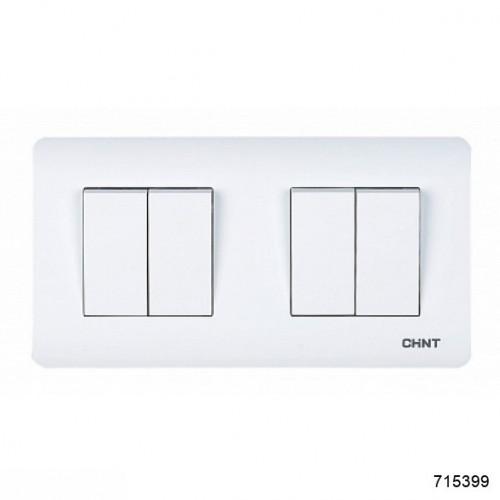 4-клавишный проходной выключатель 10А 250В (CHINT), арт.715399