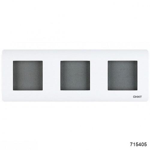 3-местная рамка (CHINT), арт.715405