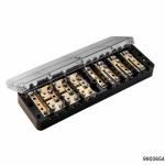 Коробка испытательная переходная ИКП (аналог ИК, ИКК) с прозр. крышкой, арт.9900654