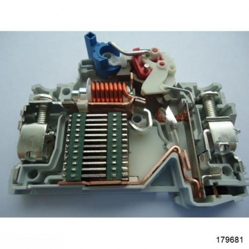 Автоматический выключатель NB1-63 2Р 6А 6кА х-ка D (CHINT), арт.179681