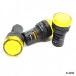 Индикатор помехозащищенный ND16-22D/4K2 желтый АС 230В (CHINT), арт.146693