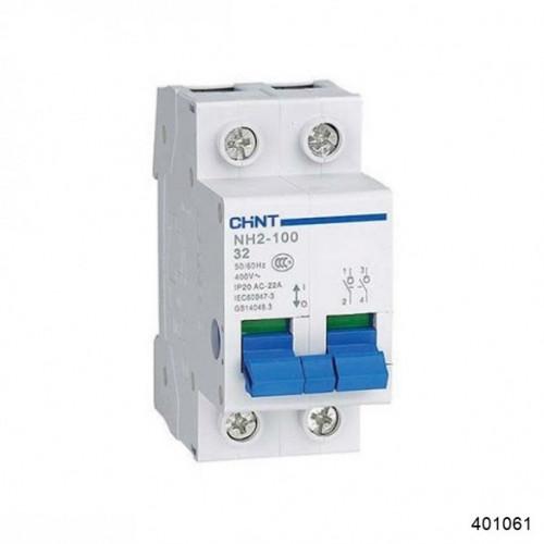 Выключатель нагрузки NH2-125 2P 100A (CHINT), арт.401061