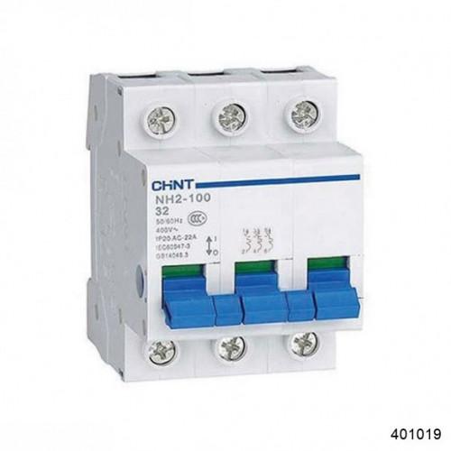 Выключатель нагрузки NH2 3P 63А (CHINT), арт.401019