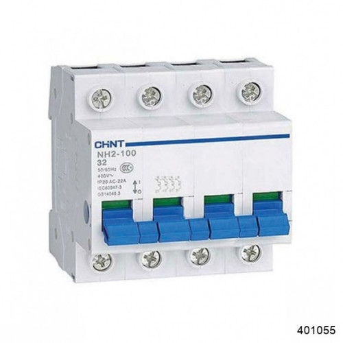 Выключатель нагрузки NH2-125 4P 32A (CHINT), арт.401055