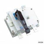 Выключатель-разъединитель NH40-400/3 ,3P ,400А, стандартная рукоятка управления (CHINT), арт.393266