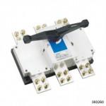 Выключатель-разъединитель NH40-1600/4W, 4Р, 1600А, выносная рукоятка управления (CHINT), арт.393260