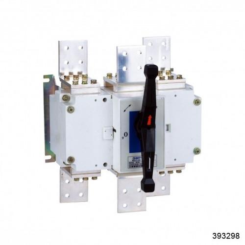 Выключатель-разъединитель NH40-3150/4W, 4Р, 3150А, выносная рукоятка управления (CHINT), арт.393298