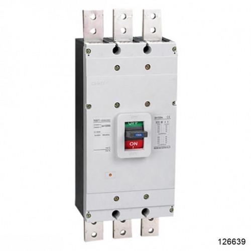 Автоматический выключатель NM1-1250H/3Р 800А 65кА (CHINT), арт.126639