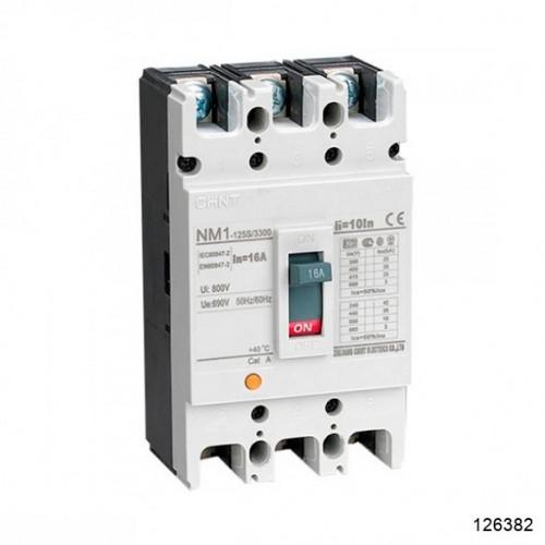 Автоматический выключатель NM1-125S/3Р 125A 25кА (CHINT), арт.126382