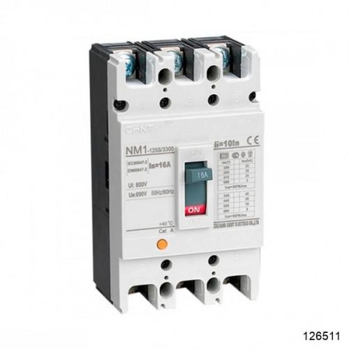 Автоматический выключатель NM1-125S/3Р 100A 25кА (CHINT), арт.126511