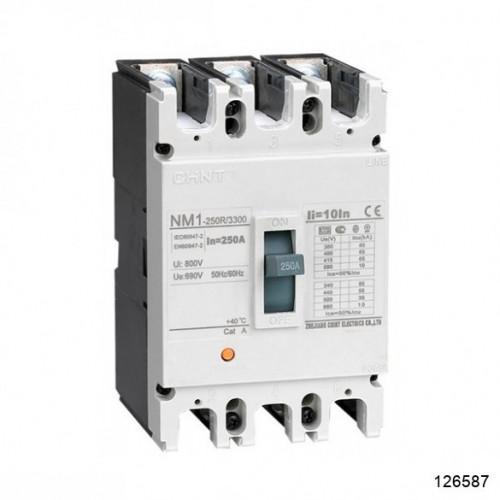 Автоматический выключатель NM1-250S/3Р 225A 25кА (CHINT), арт.126587