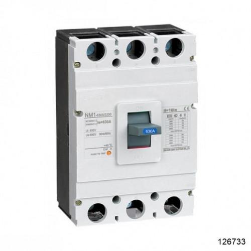 Автоматический выключатель NM1-630H/3Р 500А 50кА (CHINT), арт.126733