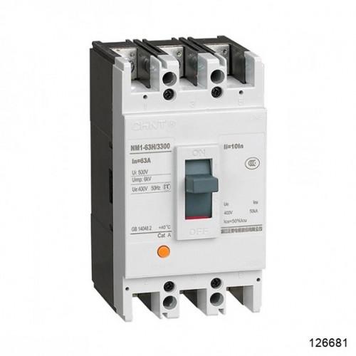 Автоматический выключатель NM1-63S/3Р 40A 15кА (CHINT), арт.126681