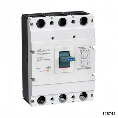 Автоматический выключатель NM1-800H/3Р 800A 60кА (CHINT), арт.126743