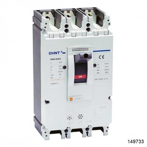 Автоматический выключатель NM8-400H 3Р 350А 100кА (CHINT), арт.149733
