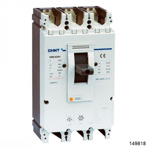 Автоматический выключатель NM8-630H 3Р 500А 100кА (CHINT), арт.149818