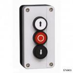 Кнопочный пост NP2-B363, сигн.лампа+1НО+1НЗ (CHINT), арт.574903