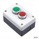 Кнопочный пост NPH1-3005, 1НО+1НЗ +сигн.лампа, АС/DC24В, арт.587077