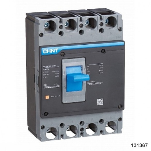 Автоматический выключатель NXM-250S/3Р 200A 35кА (CHINT), арт.131367