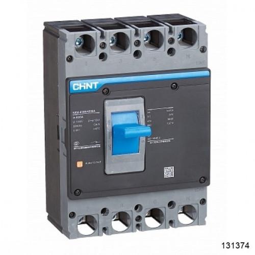 Автоматический выключатель NXM-630S/3Р 500A 50кА (CHINT), арт.131374