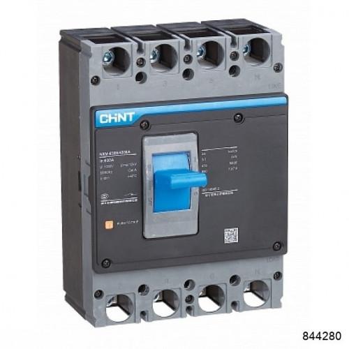 Автоматический выключатель NXM-1000S/3Р 800A 50кА (CHINT), арт.844280