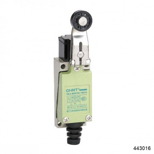 Выключатель путевой YBLX-ME/8122 с горизонтальным плунжером прямого давления (CHINT), арт.443016