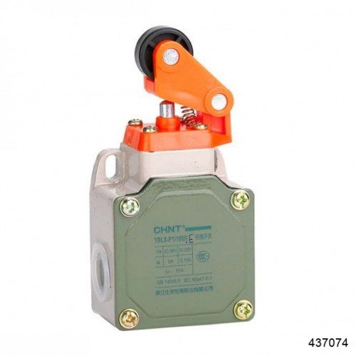 Выключатель путевой YBLX-P1/120/1U с регулируемой длиной одиночного рычага и ролика (CHINT), арт.437074