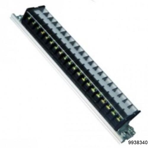 Блок зажимов наборный TD 20А на DIN-рейку 10 пар, арт.9938340