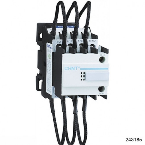 Контактор для компенсации реактивной мощности CJ19-3202, 18кВАр, 2НЗ, 230В (CHINT), арт.243185
