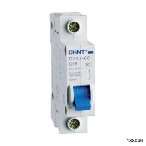 Автоматический выключатель DZ47-60 1P 50A 4.5kA х-ка C (CHINT), арт.188046