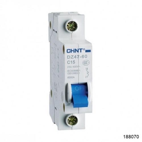 Автоматический выключатель DZ47-60 1P 63A 4.5kA х-ка C (CHINT), арт.188070