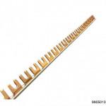 Шина соединительная типа FORK (вилка) CBB202-63 1Р 63А (дл.1 м), арт.9905010