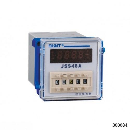 Реле времени JSS48A 8-контактный одно групповой переключатель многодиапазонной задержки питания AC/DC100V~240V (CHINT), арт.300084